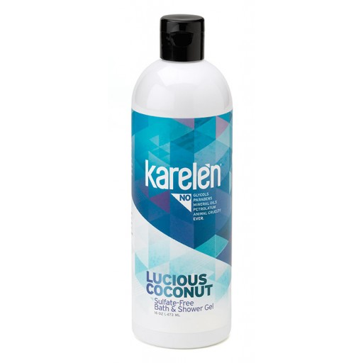 Luscious Coconut Bath & Shower Gel : 16 oz